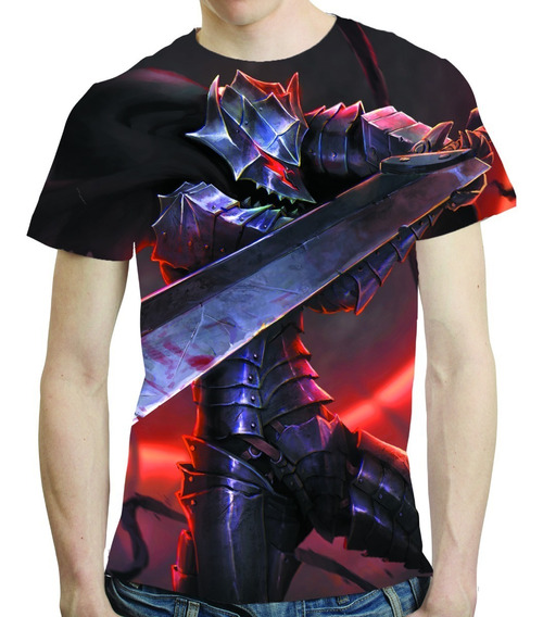 Camisa Anime Camiseta Berserk - Estampa Total 03