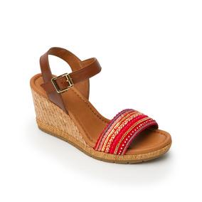 Dama Mercado Skechers Sandalias Textil México Zapatos Rojo En Libre l1JFcT3K