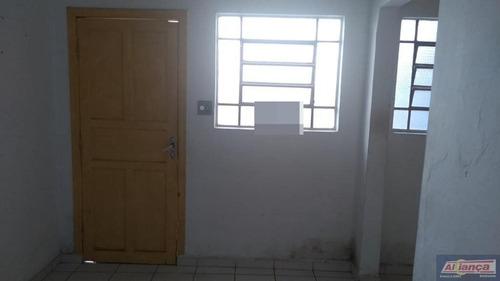 Casa Com 1 Dormitório Para Alugar, 40 M² - Centro - Guarulhos/sp - Ai13698