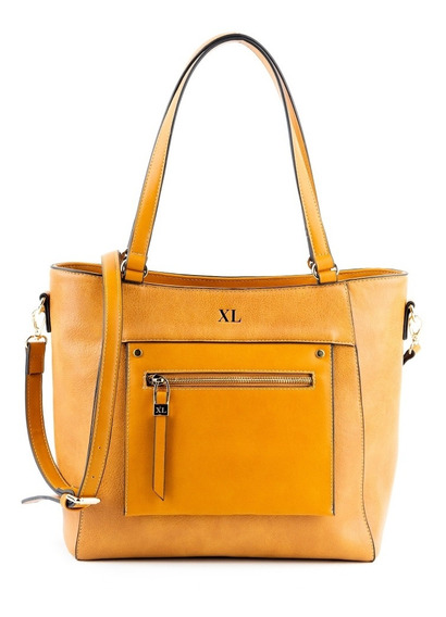 Tote Mujer Xl Extra Large Soledad Camel