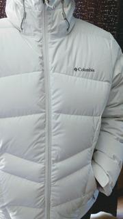 Campera Columbia Jacket Nieve Ski De Pluma Impermeable