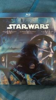 Películas Star Wars Episodios Iv, V, Vi Blu Ray