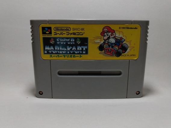 Super Mario Kart - Super Famicom - Original Japonês
