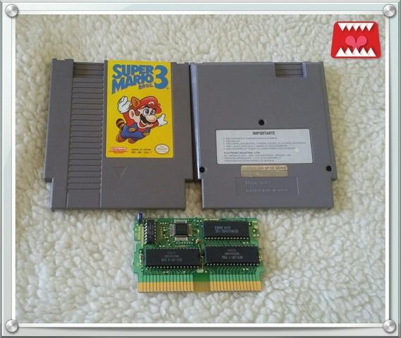 Jogo Super Mario Bros. 3 Nes Nintendo Nintendinho Original