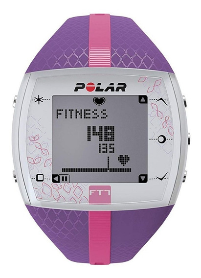 Relógio Polar Ft7 Lilás/rosa