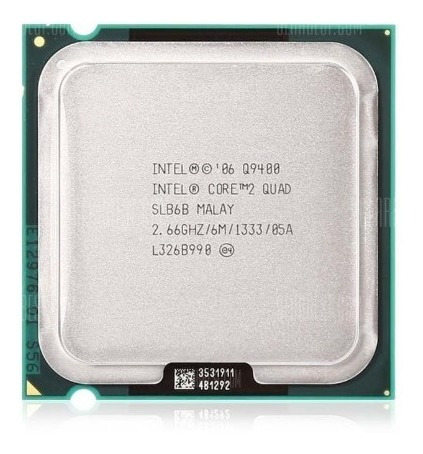 Processador Q9400 Cpu Intel Core2quad Overclock Gammer Game