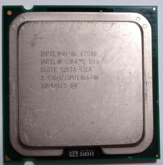 Processador Core 2 Duo E7500 - 2.93ghz - Lga775