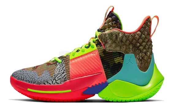 Zapatillas Basket Jordan Why Not Zero 2 Multicolor