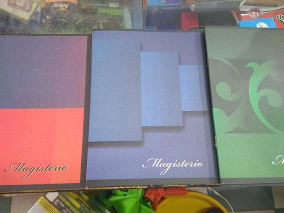 Cuaderno Magisterio 24 Hojas!! 16 X 21cms X 10u