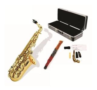 Saxofon Alto Dorado Marca Prelude