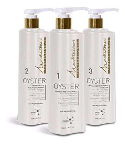 Kit Reconstrução Mediterrani Oyster Repair 3 Passos + Brinde