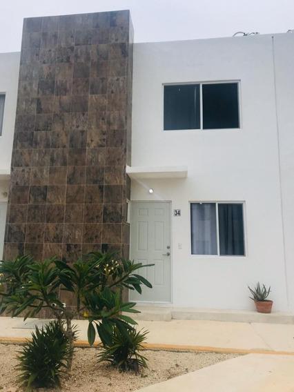 Casa De 2 Recamaras En Renta En Los Olivos En Playa Del Carmen