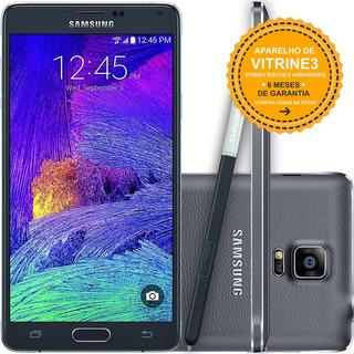Samsung Galaxy Note 4 N910c 32gb Single 16mp Preto Vitrine 3