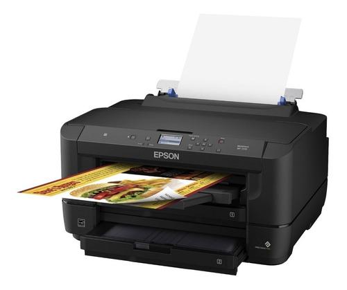 Imagen 1 de 7 de Impresora De Sublimacion Epson Workforce Wf-7210 Car + Tinta