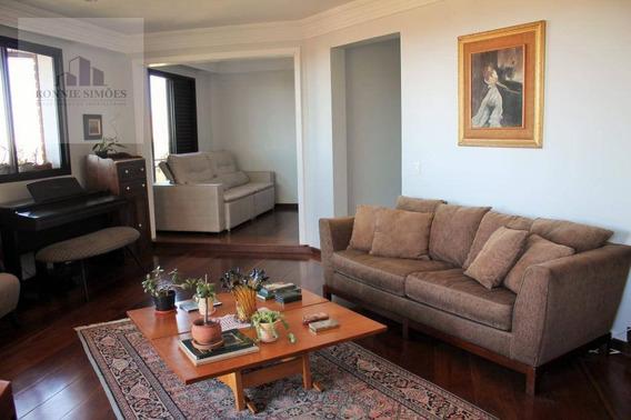 Apartamento Para Venda No Morumbi, 3 Dormitórios, 2 Suítes, 3 Salas Amplas, 4 Banheiros, 3 Vagas De Garagem, 394 M² Total, 198 M² Útil, São Paulo. - Ap0942