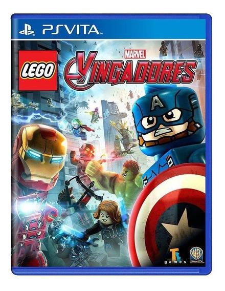 Lego Marvel Vingadores Ps Vita Mídia Física Pronta Entrega