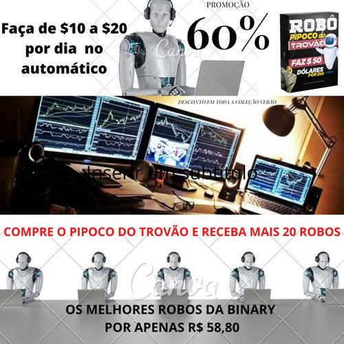 Imagem 1 de 1 de Pacote Yeso Os Melhores Robôs Da Binary Para Lucrar Em Dólar