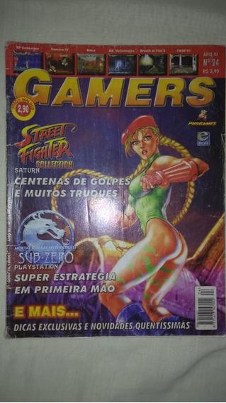 Revista Gamers Nº 24 Ano 3 Ótimo Estado Video Game