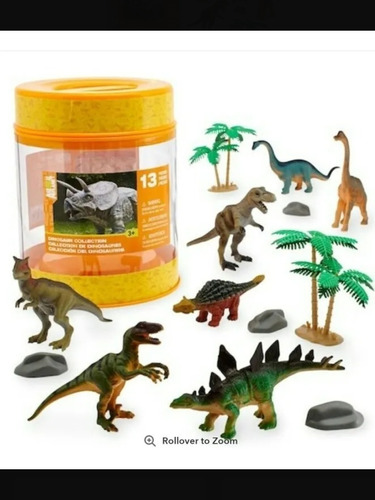 Dinosaur Collection Animal Planet Exclusivo Toys Rus 28 Vrds