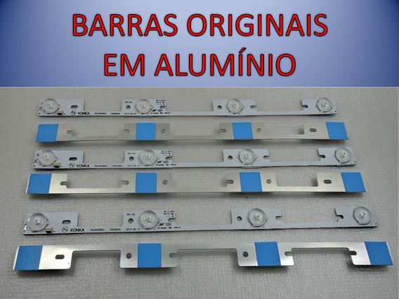 Kit 6 Barras Semp 40l2400 / Dl3944 / Dl4045 / 40l5400 Novas