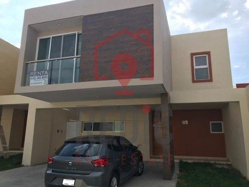 Casa En Renta En Fracc. La Vista Residencial Ln