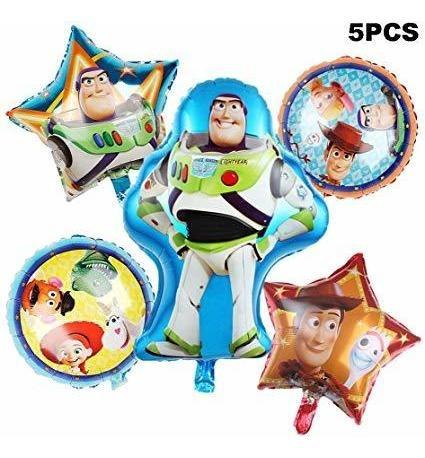 Paquete De 5 Partido Del Globo Toy Story Suministros 30 Glo