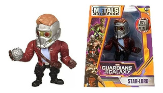 Star Lord Figura Metal Guardianes De La Galaxia En Caja