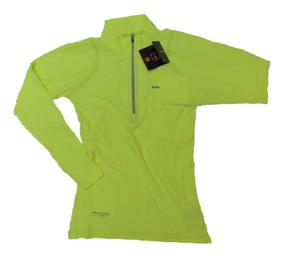Remera Dama Mujer Dry Fit Proteccion Filtro U.v. Gimnasia Gym Trekking Running Sol Playa Agua Quilmes