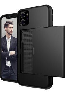Capa Case iPhone 11 6.1 Anti Impacto - Porta Cartão