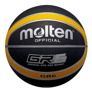 Balón Basquetbol Baloncesto Molten #6 Caucho 12 Pan