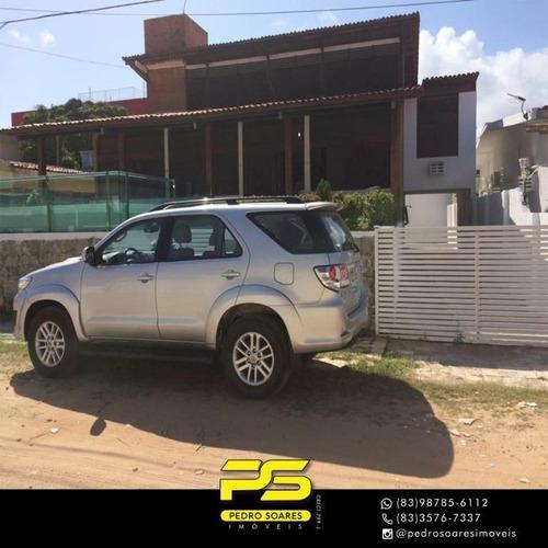 Casa Com 6 Dormitórios À Venda Por R$ 880.000 - Camboinha - Cabedelo/pb - Ca0748