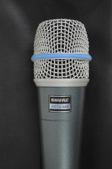 Microfone Shure Beta Sm57a Original + Suporte