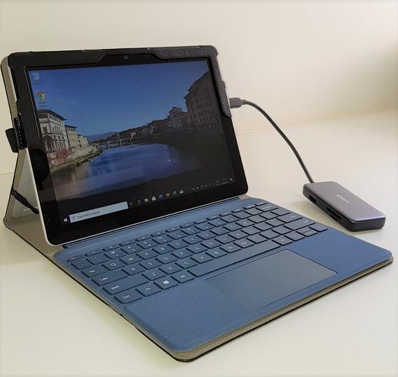 Surface Go 8gb Ram 128gb Ssd + Teclado + Capa + Hub Usb
