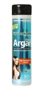 Shampoo Pre-tratamiento Keratina Óleo Argán Bigbangkeratin