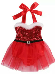 Vestido Bory Infantil Mamãe Noel