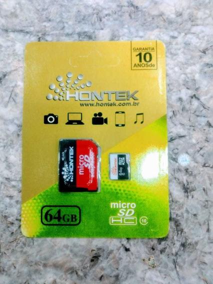 Cartão De Memória Hontek Original 64gb Imperdível Promoção