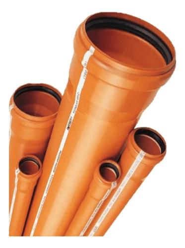 Caño/tubo 110 Pluvial 1.8 Con Aro De Goma Awaduct 4m + Envio