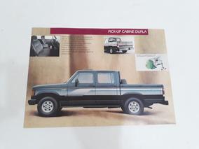 Folder Folheto Brochura Chevrolet D 20 Custom Coleção !!!