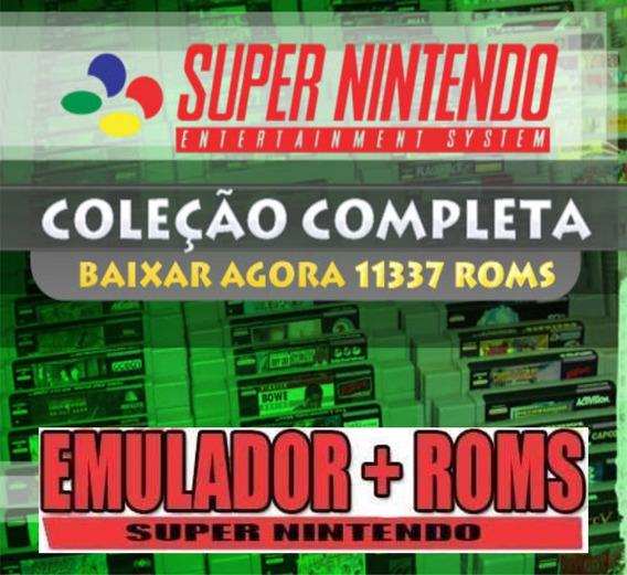 11337 Jogos Para Super Nintendo + Emulador - Forever