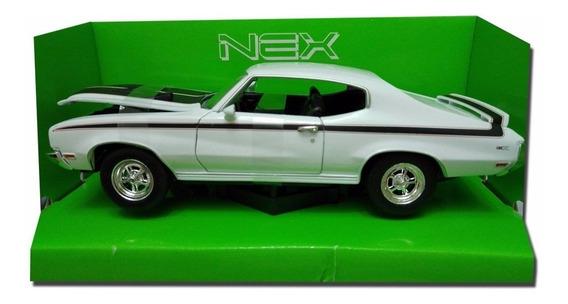 Auto 1/24 Colección Welly Buick Gsx 1970 La Plata Myuj