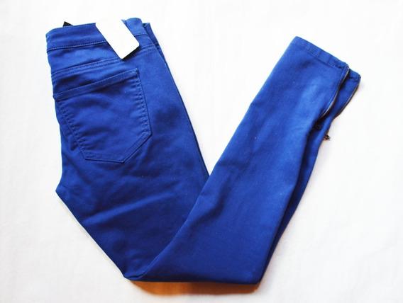 Pantalon Azul Mujer Forever 21 Original Talle 24 (34) Nuevo!