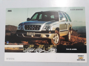 Blazer Advantage 2005 Catálogo Brochura Folder