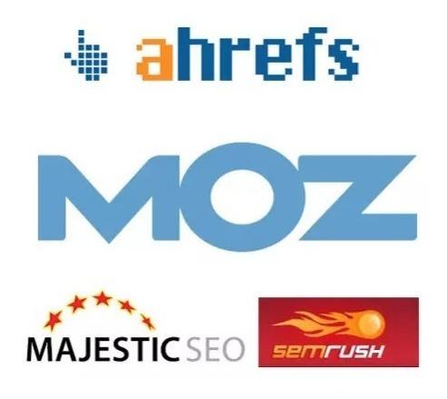 Semrush, Moz, Ahefs, Majestic E Mais - Plano Mensal