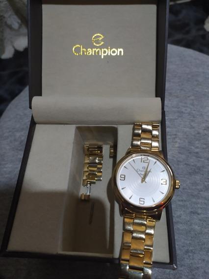 Relógio Champion Feminino Elegance Analógico .