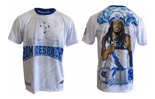 Camisa Máfia Azul Bom Despacho Bob Marley Torcida Times