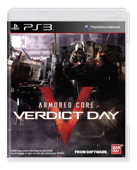 Armored Core: Verdict Day Ps3 Mídia Física Novo Lacrado