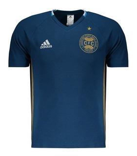 Camisa Coritiba adidas Viagem Algodão Azul 2017