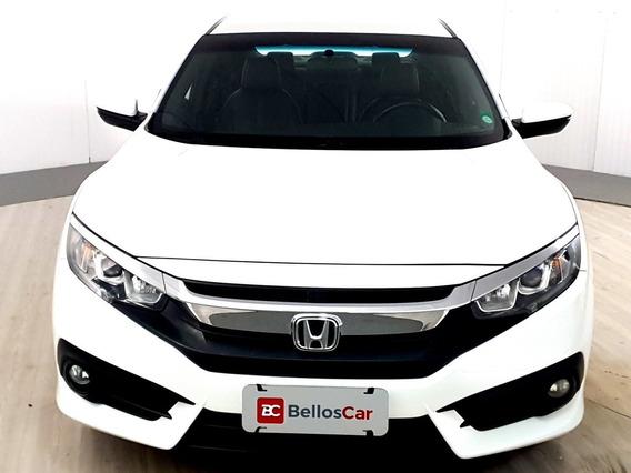 Honda Civic Sedan Exl 2.0 Flex 16v Aut.4p - Branco - 201...