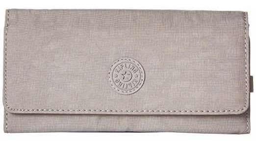 Billetera Kipling Original Usada Cemento
