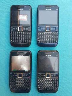 Lote Com 4 Celulares Nokia E63 (leia A Descrição)